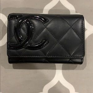 CHANEL Flap Card Holder